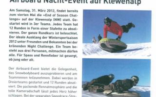 Neue Nidwaldner Zeitung - Airboard